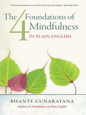 cover image of The Four Foundations of Mindfulness in Plain English