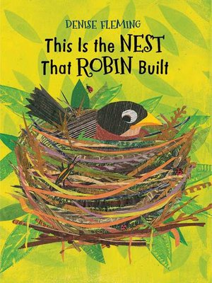cover image of This Is the Nest That Robin Built