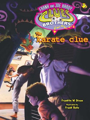 cover image of The Karate Clue