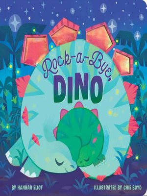 cover image of Rock-a-Bye, Dino