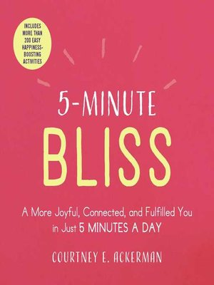 cover image of 5-Minute Bliss