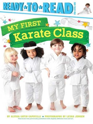 cover image of My First Karate Class