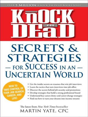 cover image of Secrets & Strategies in Uncertain World