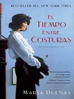cover image of El tiempo entre costuras