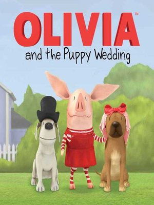 cover image of Olivia and the Puppy Wedding