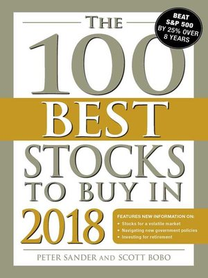 cover image of The 100 Best Stocks to Buy in 2018