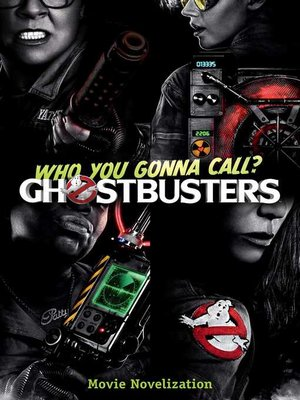 cover image of Ghostbusters Movie Novelization