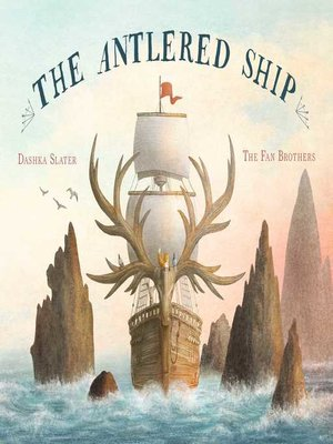 cover image of The Antlered Ship