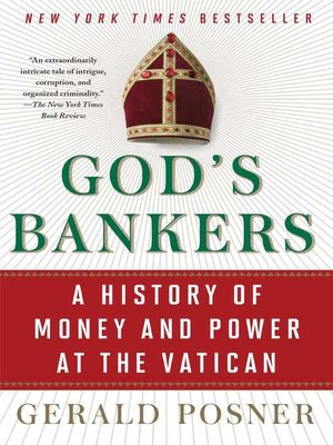 cover image of God's Bankers