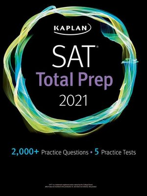 cover image of SAT Total Prep 2021