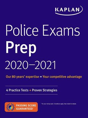 cover image of Police Exams Prep 2020-2021