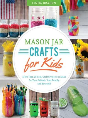 cover image of Mason Jar Crafts for Kids