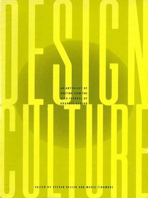 cover image of Design Culture