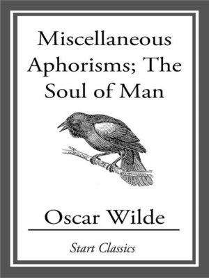 cover image of Miscellaneous Aphorisms