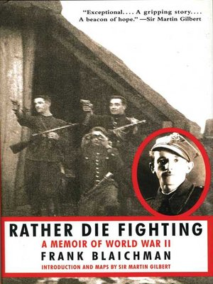 cover image of Rather Die Fighting