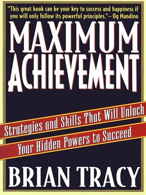 cover image of Maximum Achievement