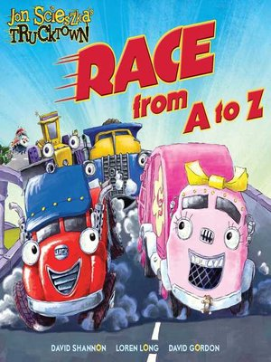 cover image of Trucktown Race A to Z