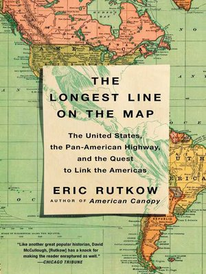 cover image of The Longest Line on the Map