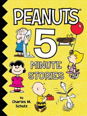 cover image of Peanuts 5-Minute Stories