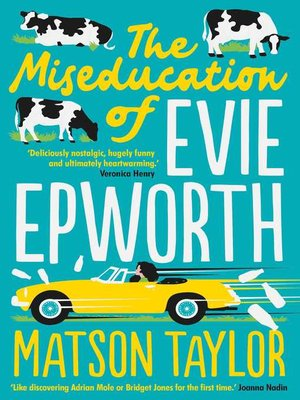 cover image of The Miseducation of Evie Epworth