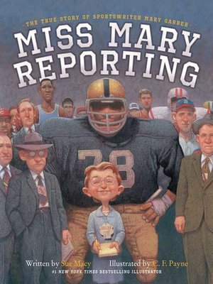 cover image of Miss Mary Reporting