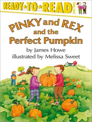 cover image of Pinky and Rex and the Perfect Pumpkin
