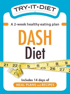 cover image of Try-It Diet--DASH Diet
