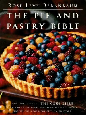 cover image of The Pie and Pastry Bible