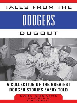 cover image of Tales from the Dodgers Dugout
