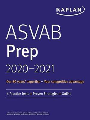 cover image of ASVAB Prep 2020-2021