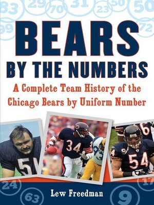 cover image of Bears by the Numbers