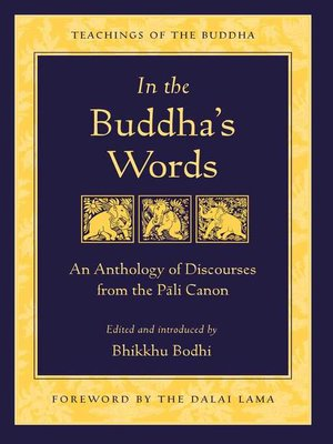 cover image of In the Buddha's Words