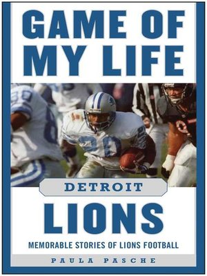 cover image of Game of My Life Detroit Lions