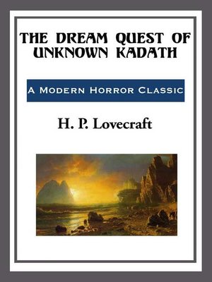cover image of The Dream Quest of Unknown Kadath