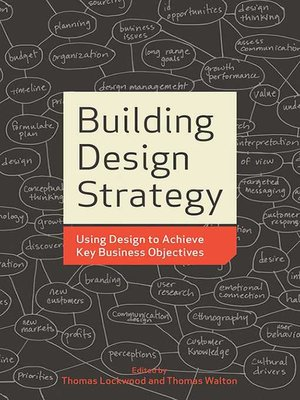 cover image of Building Design Strategy