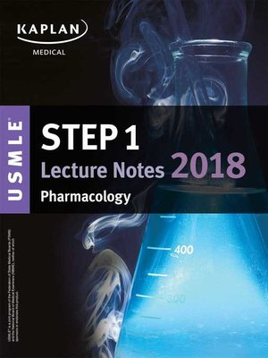 cover image of USMLE Step 1 Lecture Notes 2018