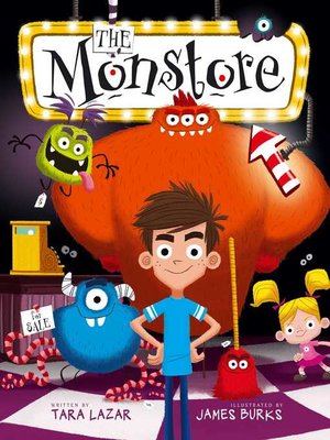 cover image of The Monstore