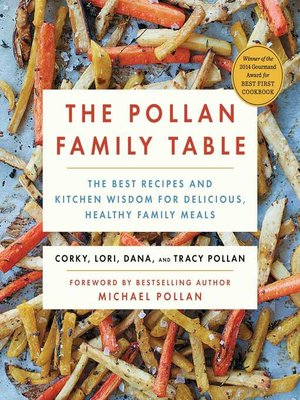 cover image of The Pollan Family Table