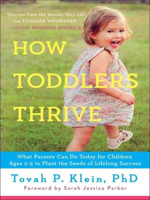 cover image of How Toddlers Thrive