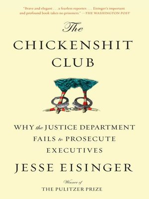 cover image of The Chickenshit Club