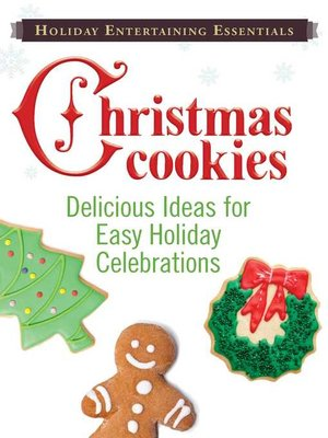 cover image of Christmas Cookies: Delicious  ideas for easy holiday celebrations