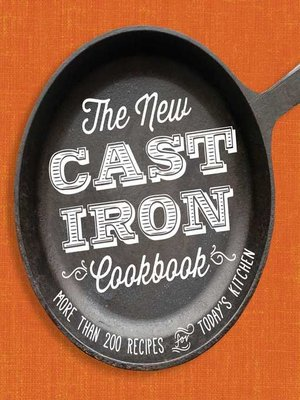 cover image of The New Cast-Iron Cookbook