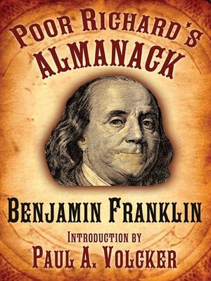 cover image of Poor Richard's Almanack