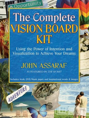 cover image of The Complete Vision Board Kit