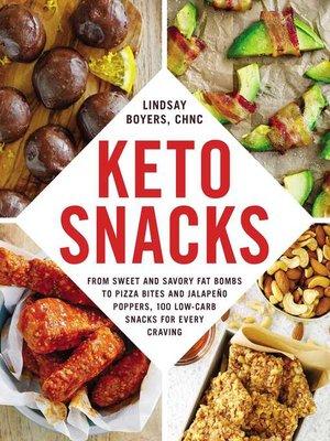 cover image of Keto Snacks