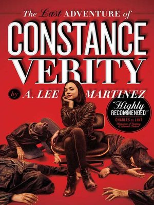 cover image of The Last Adventure of Constance Verity