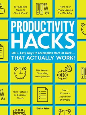 cover image of Productivity Hacks