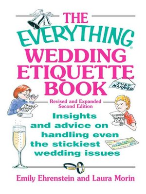 cover image of The Everything Wedding Etiquette Book