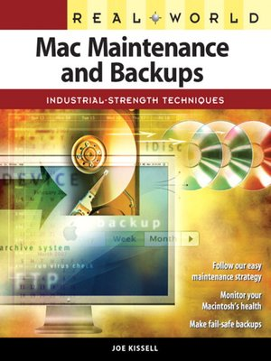 cover image of Real World Mac Maintenance and Backups