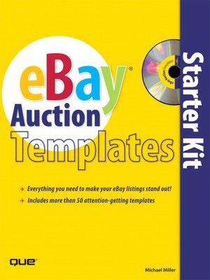 cover image of eBay Auction Templates Starter Kit
